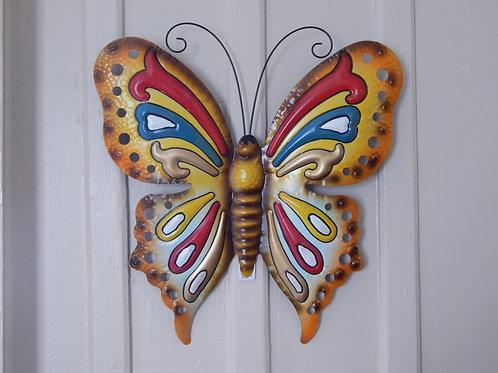 """Metal Art - Butterfly - 20"""" W x 22"""" H"""