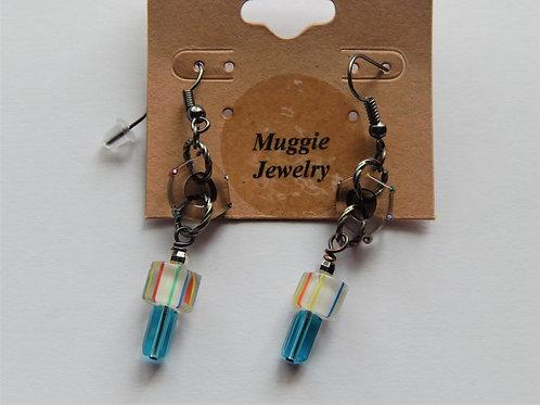 Earrings - Item E50 - Furnace Glass - Muggie Jewelry