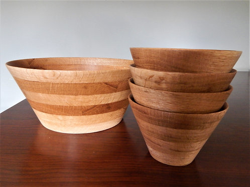 Handmade Wood Salad Set -  #1 -David Richardson