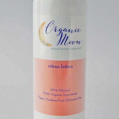 Organic Moon Citrus Lotion - 8 oz. - Natural / Organic