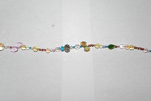 Sun Sparkler - Item S13 - Copper / Crystals / Beading