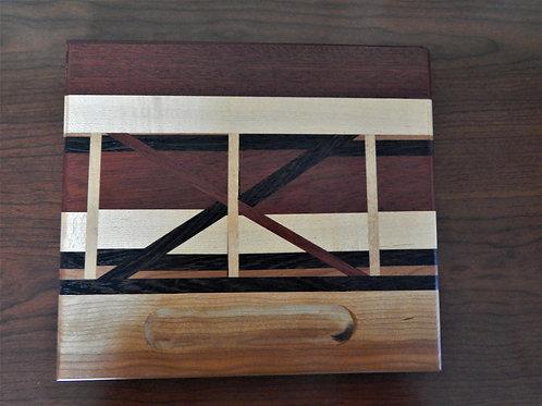 Handmade Exotic Wood Cheese Board -  #2 -David Richardson