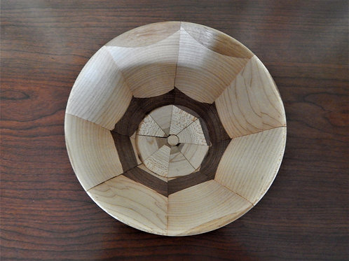 Handmade Exotic Woods Bowl -  #10 -David Richardson