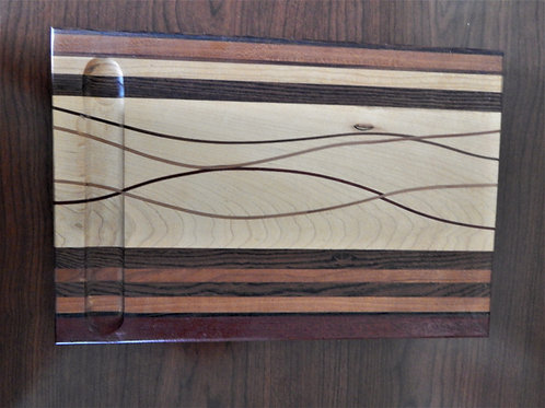 Handmade Exotic Wood Cheese Board -  #1 -David Richardson