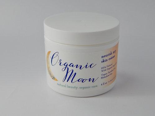 Organic Moon Nourish my Skin Creme - 2 oz. - Natural / Organic