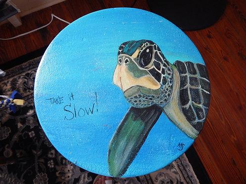 Turtle Stool - Alberta Sulik