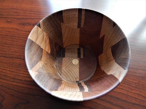 Handmade Exotic Woods Bowl -  #13 -David Richardson