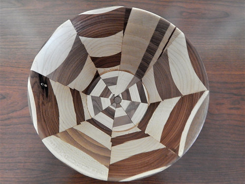 Handmade Exotic Woods Bowl -  #16 -David Richardson