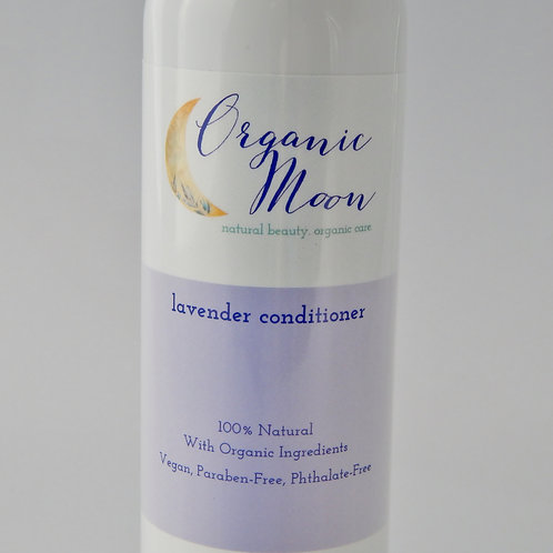 Organic Moon Lavender Conditioner - 8 oz. - Natural Organic