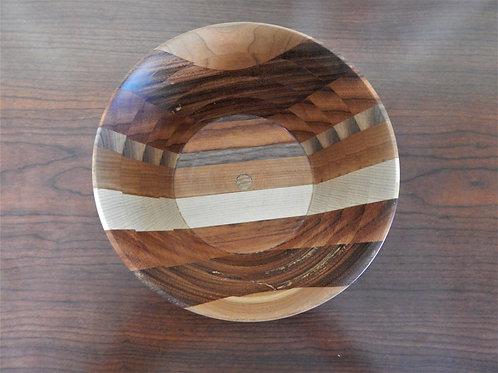 Handmade Exotic Woods Bowl -  #4 -David Richardson