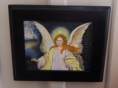 """Angel"" - Original Art - Karen French"