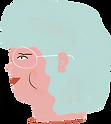 파란 머리