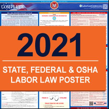 Pre-Order 2021 Labor Law Poster