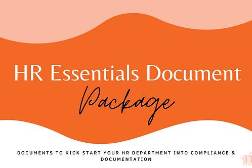 HR Essentials Digital Package