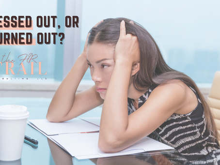 Are You Stressed Out, or getting Burned Out?