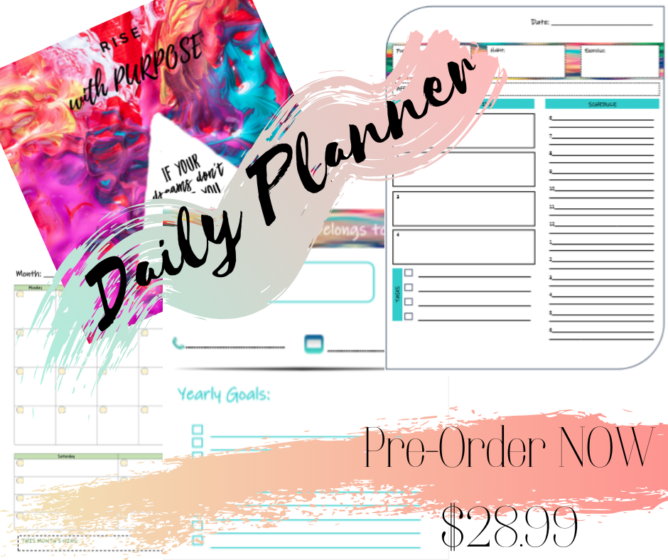 The HR Trail Purpose daily planner
