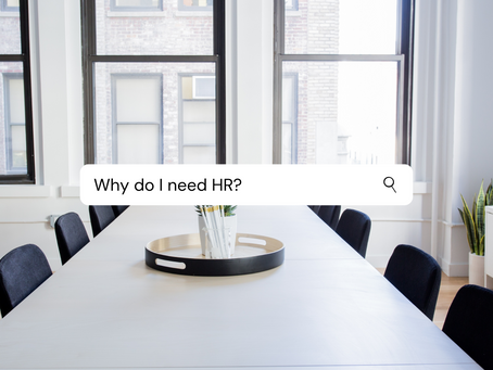 Why Do I Need HR?