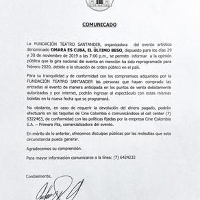 """Gira de despedida Omara Portuondo """"OMARA ES CUBA: EL ÚLTIMO BESO"""""""