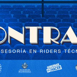 A CONTRALUZ: Asesoría en riders técnicos