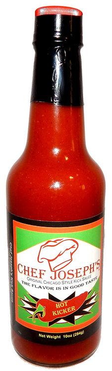 Chef Joseph's 10oz Hot Kicker Kick Sauce (Estimated 180,000 Scoville Units)