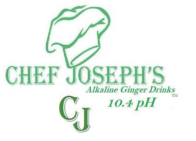 Chef Joseph's Alkaline Ginger Drink 10.4
