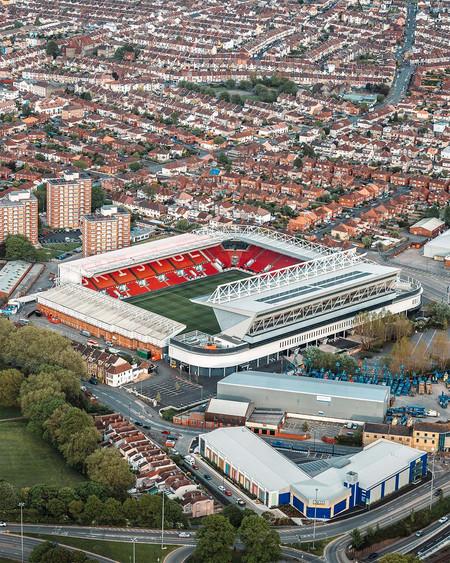 Ashton Gate Stadium Aerial