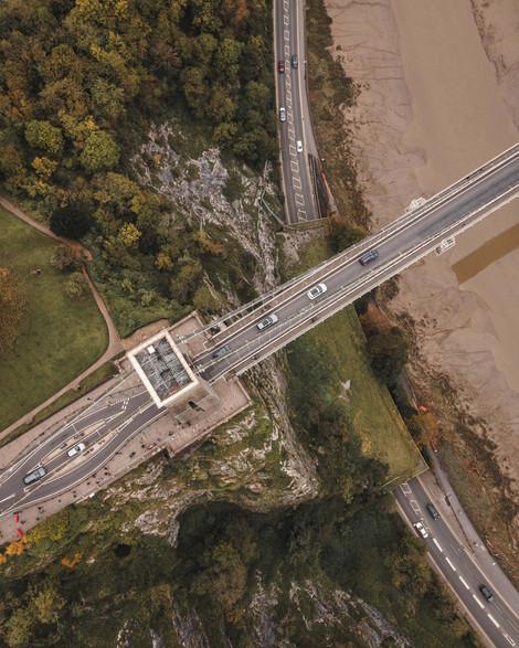 Clifton Suspension Bridge Aerial
