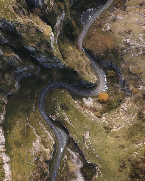 Cheddar Gorge Aerial