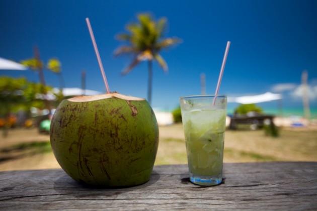 venda de água de coco verão