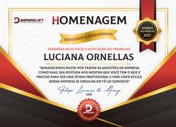 Certificado de Resultado e Desempenho.