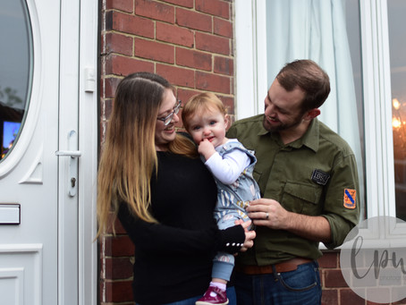 Lockdown 2.0 Doorstep Family Sessions