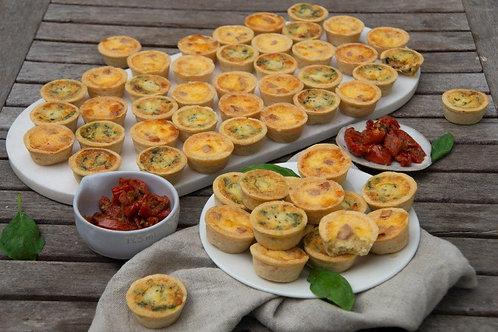 Petite Quiche & Pies