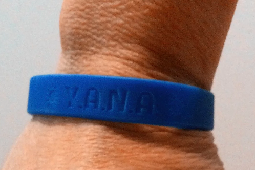 """""""Y.A.N.A. """"You Are Not Alone"""" Wrist Bands"""