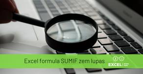 Excel formula SUMIF zem lupas