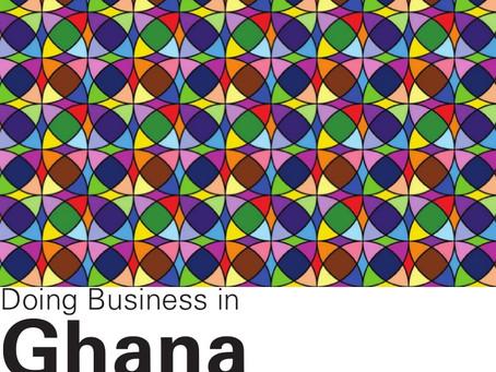 Doing Business In Ghana, Africa