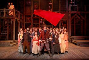 Les Miserables Mis Scenic Painter Artist Musical CCM Cincinnati Scenic Design Productions Gabriel Firestone Set Theater Theatre
