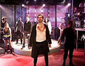 Bloody Andrew Jackson Musical Know Cincinnati  Scenic Design Productions Gabriel Firestone Set Theater Theatre