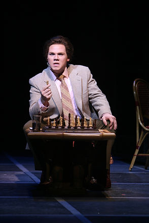 Chess Musical Scenic Painter Artist CCM Cincinnati Scenic Design Productions Gabriel Firestone Set Theater Theatre