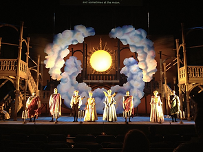 Galileo Galilei Cincinnati  Opera Scenic Design Productions Gabriel Firestone Set Theater Theatre