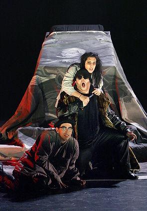 Don Giovanni Scenic Painter Artist opera CCM Cincinnati Scenic Design Productions Gabriel Firestone Set Theater Theatre
