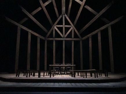 The Crucible Arthur Miller CCM Cincinnati Scenic Design Productions Gabriel Firestone Set Theater Theatre