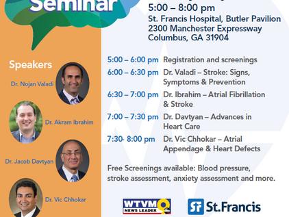 Stroke Seminar at St. Francis Hospital Featuring Dr. Ibrahim