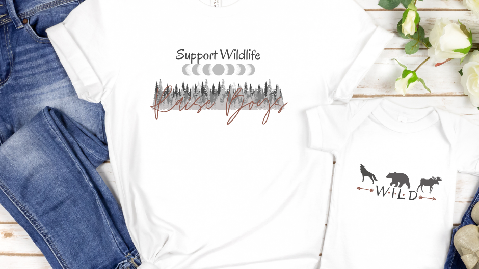 Support Wildlife/Raise Boys - Youth/Baby