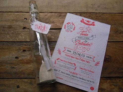 Botella Vintage Semilla