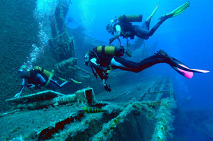 Guided Wreck Diving
