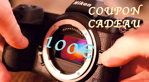 COUPON CADEAU 100€