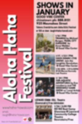 Aloha Hh Fest Good Vibes - Made with Pos