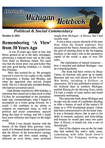 Horton's Michigan Notebook- Oct. 5, 2121- Remembering 'A View'.jpg