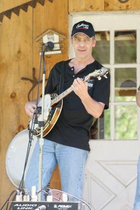 Brimstock festival, banjo