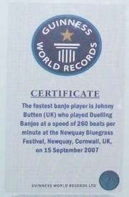 Sept 15, 2007 Worlds fastest